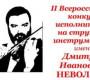 Итоги II Всероссийского конкурса исполнителей на струнных инструментах имени Дмитрия Ивановича Неволина