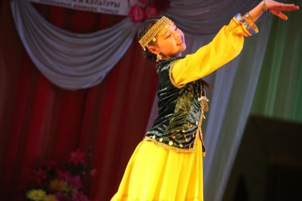 Башкирский танец в исполнении нурсили