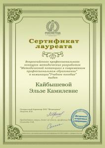 Кайбышева Э.К.