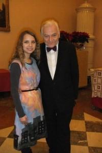 Луц Лесковиц и Лира Аллаярова