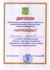 Хусаинов Диплом _Гармонь_