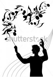 stock-vector-a-silhouette-illustration-of-the-director-of-a-choir-with-baton-in-his-hand-59486371