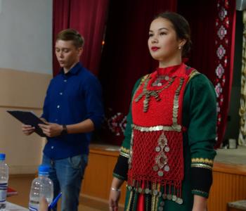 019 Мансуров Мансур - этническое нагрудное украшение Яга_филигрань, сердолик