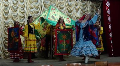 035 Хисамова Альбина - сценический элемент для танцевального проекта Башкирская юрта