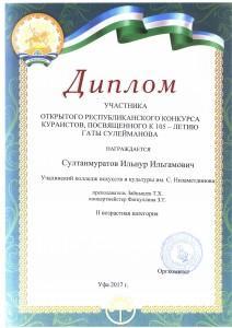 Диплом Султанмуратов И_