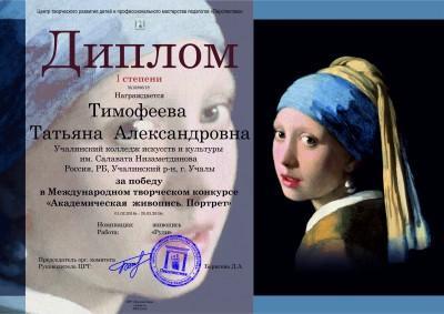 Тимофеева Татьяна