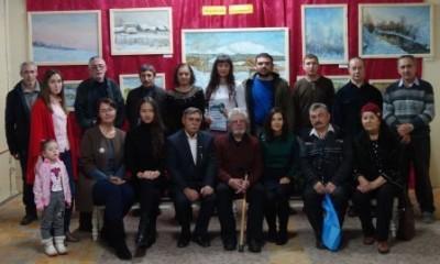 7 художники клуба Радуга - групповое фото